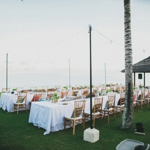 Outdoor Reception Venue Settings
