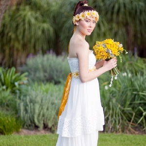 Bohemian Theme Wedding