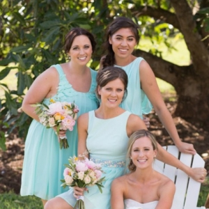 The Bridesmaids with the Bride