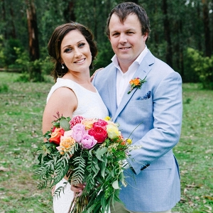 Bright Modern Country Wedding