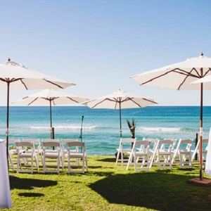 Byron Bay Beach Cafe Wedding