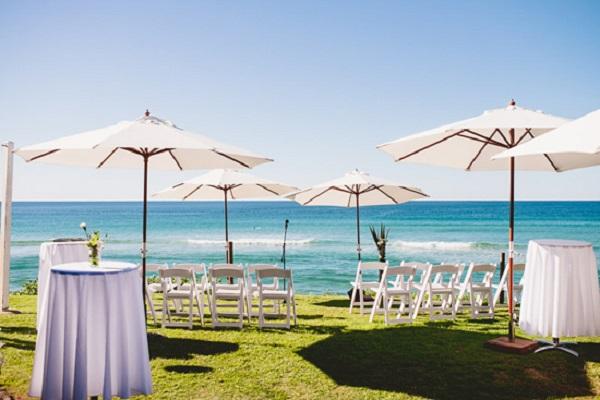 Byron Bay Beach Cafe Wedding
