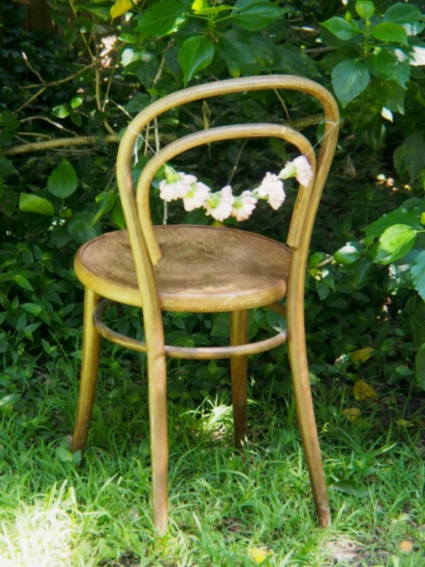 Carnation Chair Garland