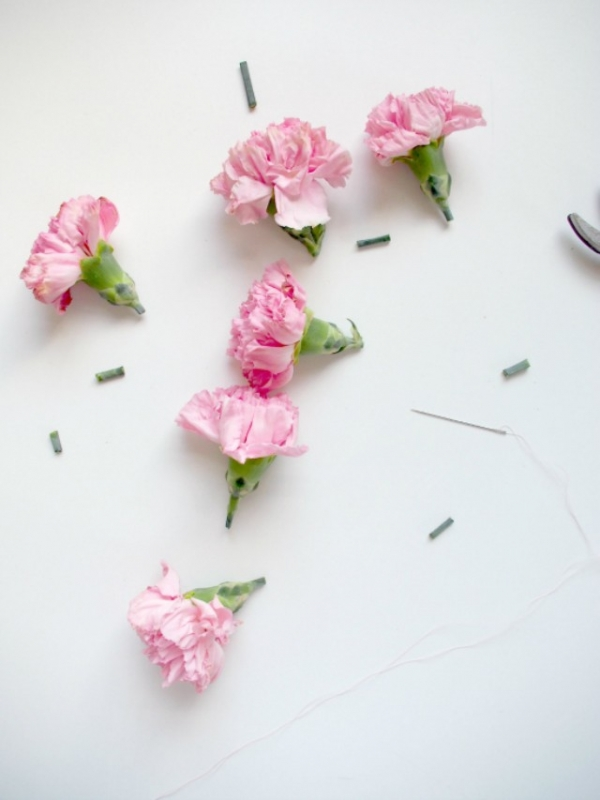 Things You Need For A Floral Garland