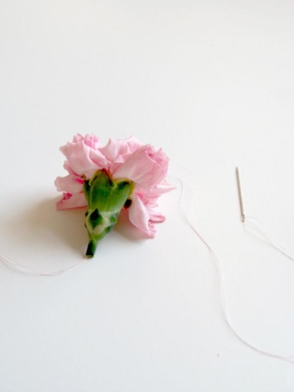 Carnation Garland Tutorial