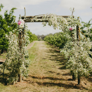 Floral Wedding Ceremony Archway