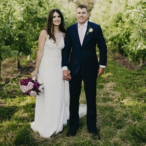Chic Country Orchard Wedding