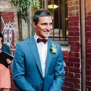 Groom During Processional