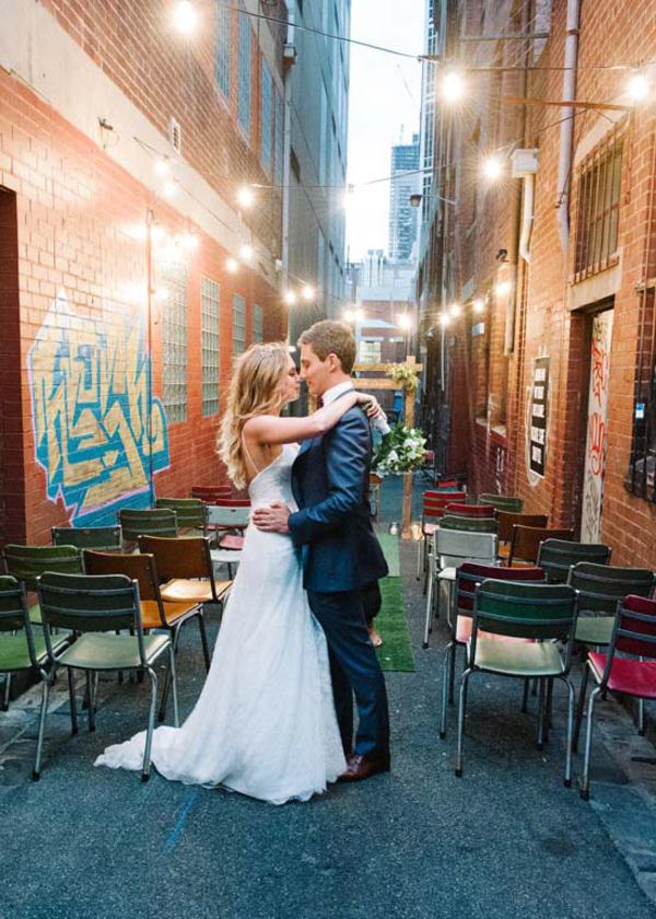 Urban Laneway Wedding