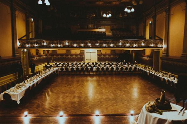 Town Hall Wedding Reception