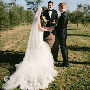 Olive Grove Wedding Ceremony