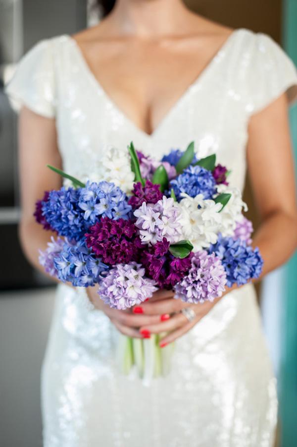 Hyacinth Wedding Bouquet