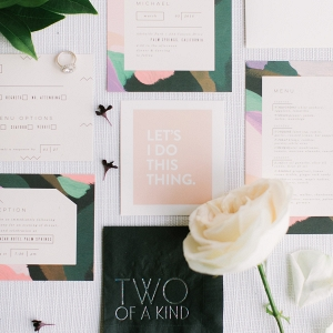 Minted Modern Stationery Suite