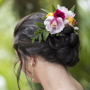 orchid-hair-flowers