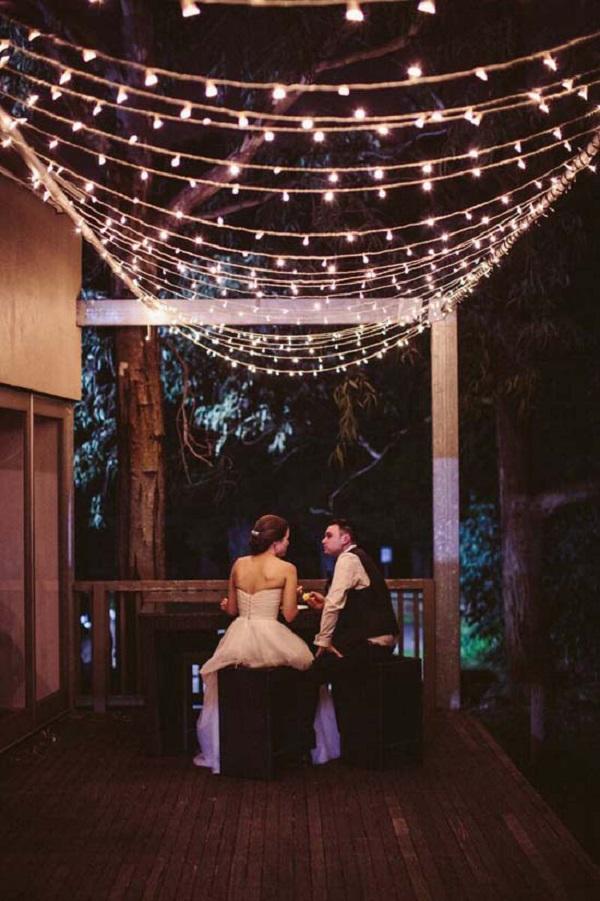 Cosy Black Tie Wedding