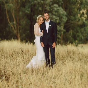 Australian Country Wedding Portrait