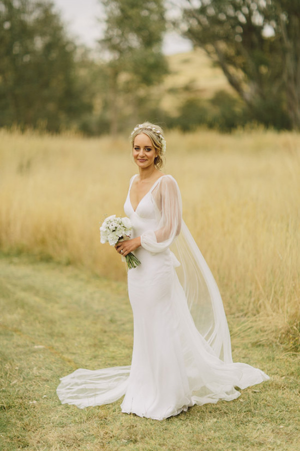 Bride Wearing Jane Hill