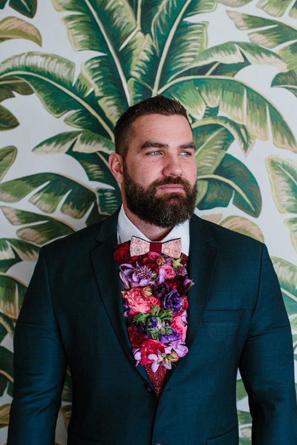 Fresh Flower Cravat