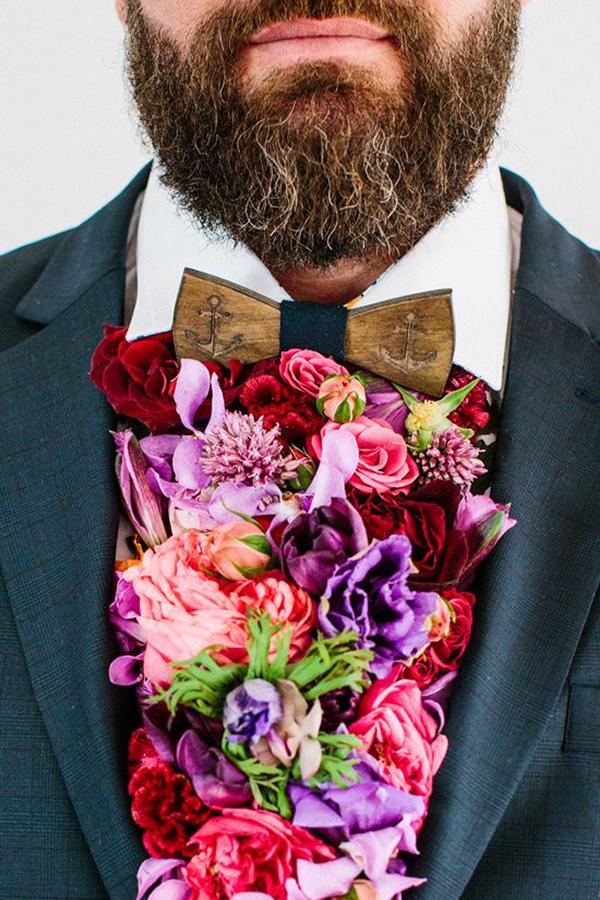 Fresh Floral Cravat