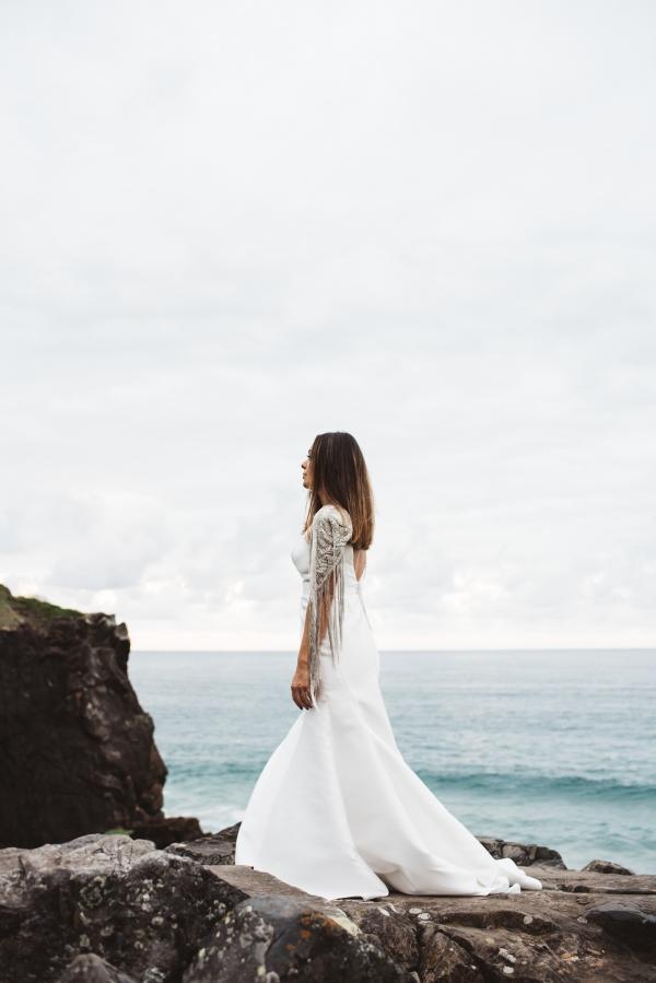 Bridal Fashion By The Sea