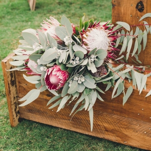 Eucalyptus Ceremony Decor