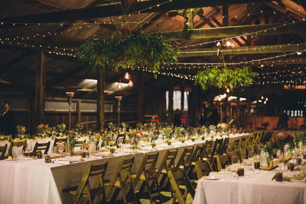 Woolshed Wedding Reception