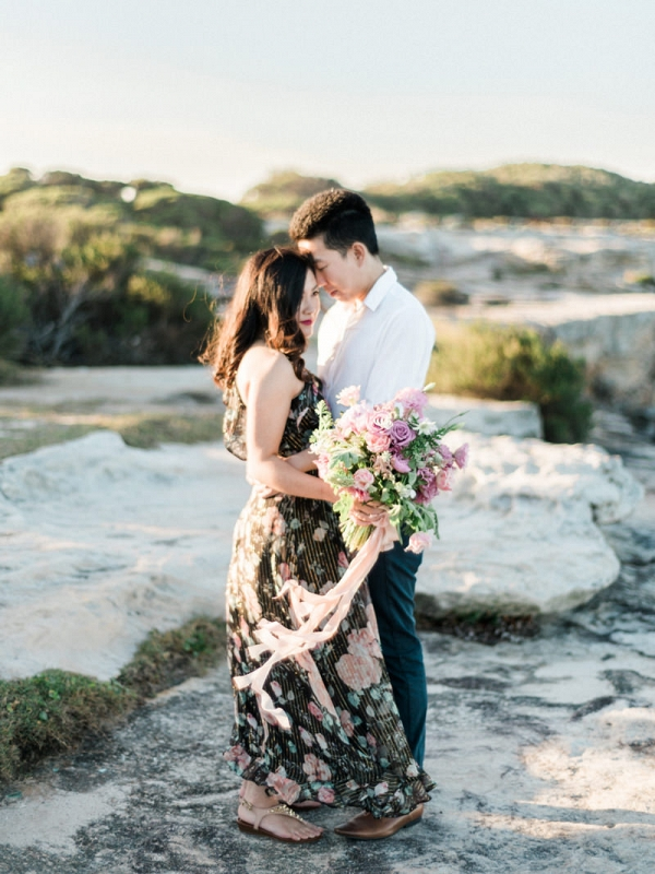 Beautiful Beach Engagement