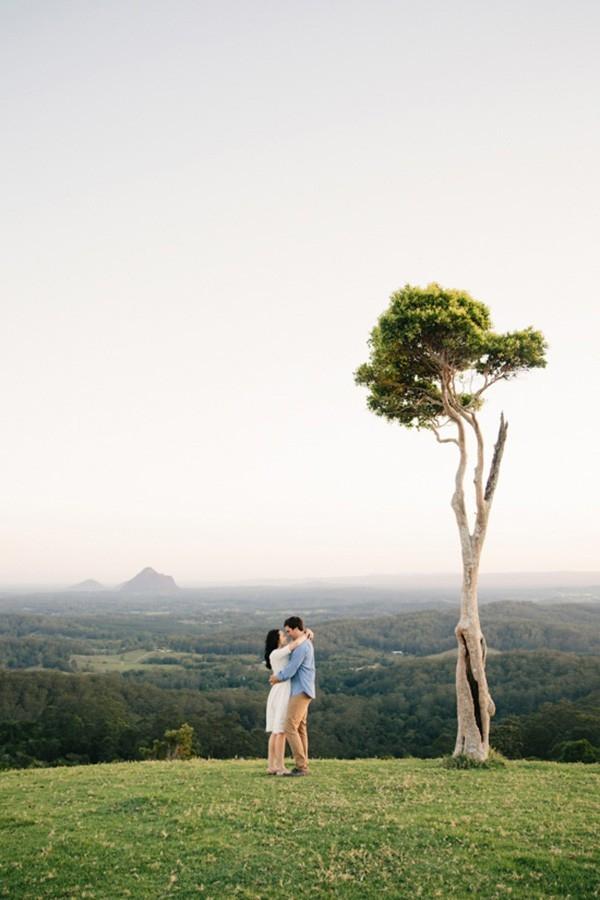 Beautiful Engagement Portrait