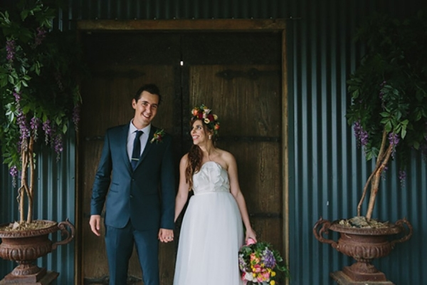 Dreamy Flower Filled Wedding