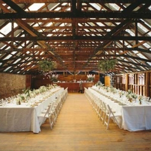 Wool Shed Wedding Reception