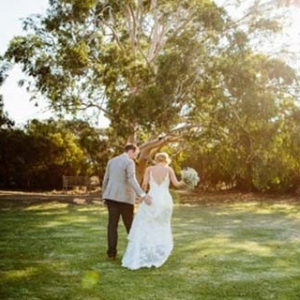 Newlyweds At Australian Wedding