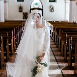 Royal wedding inspired bridal look