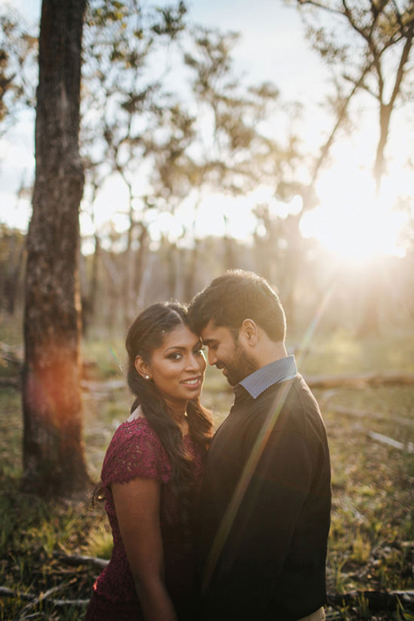 Elegant Country Engagement Photos
