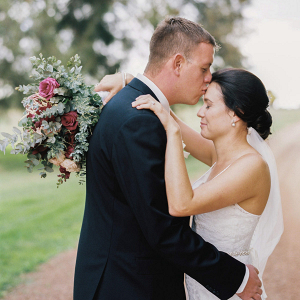 Romantic Film Wedding Photo