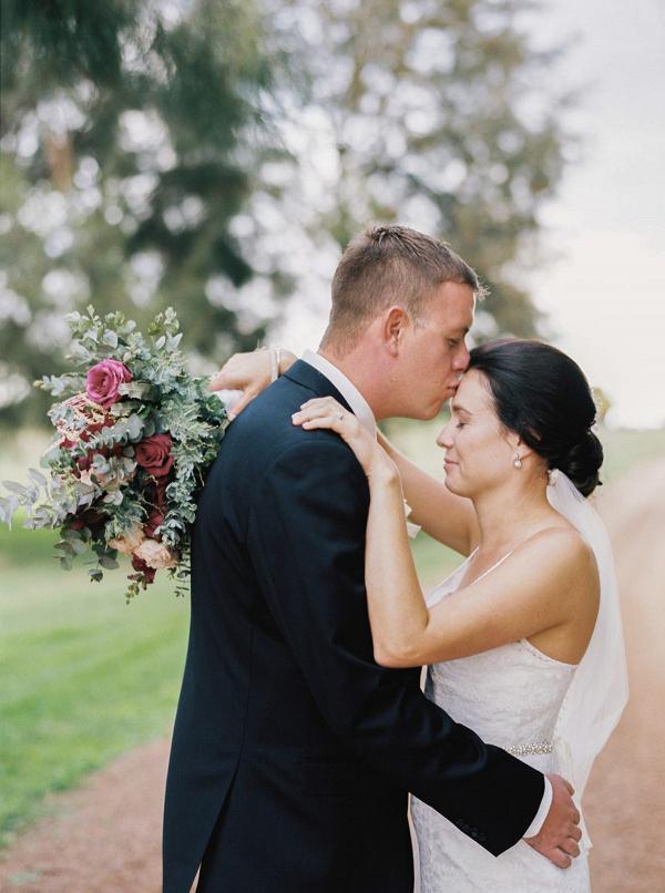 Romantic Film Wedding Photo
