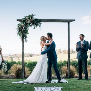 First Kiss - Wedding Ceremony