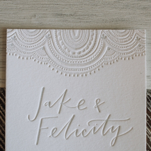 Pressed Invitations