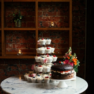 Wedding Cake Of Cupcakes