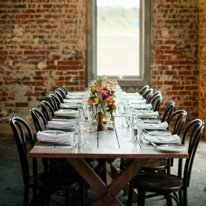 Long Wood Tablescape