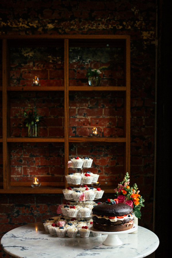 Wedding Cake Of Cupcakes