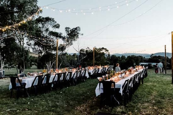 Outdoor Reception in the Vineyard