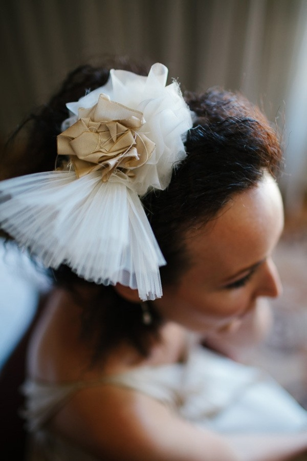 Tulle Bridal Hairpiece