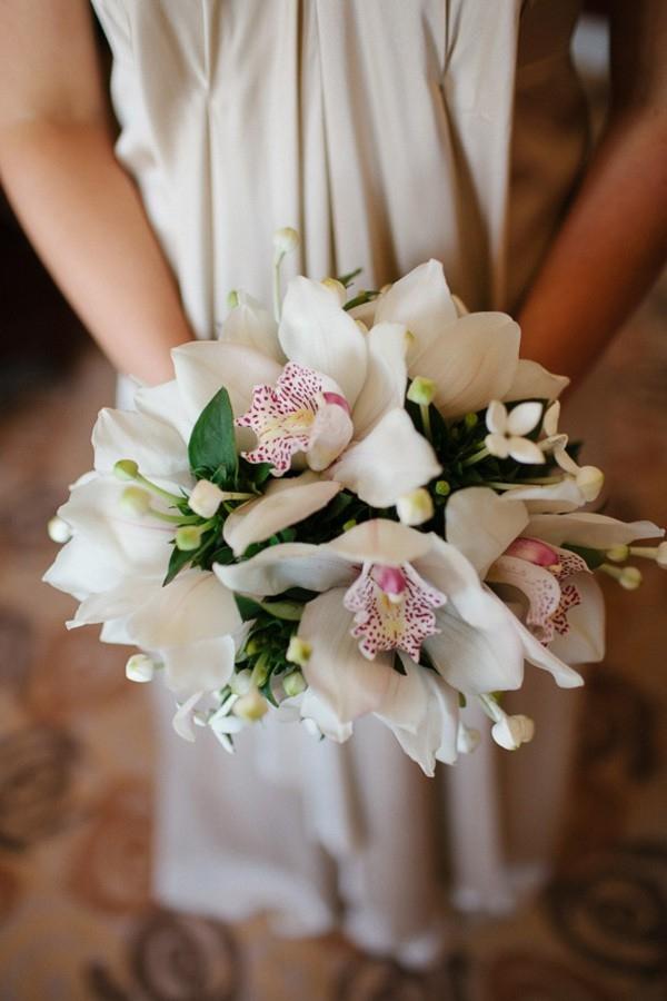Cymbidium Orchid Wedding Bouquet