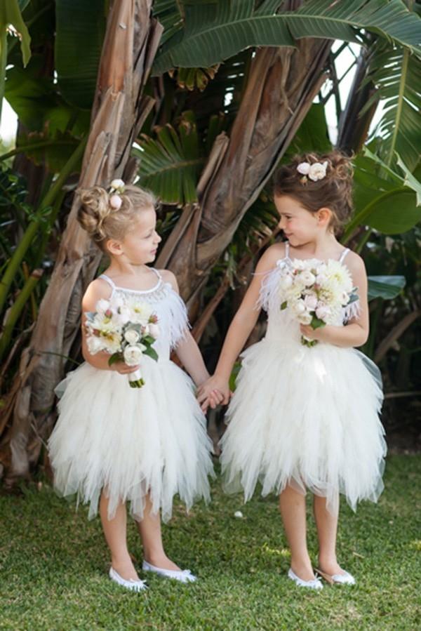 Flowergirls In Tutu De Monde Dresses