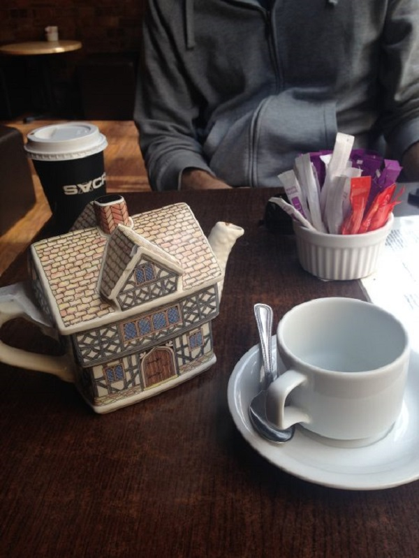 London Tea and Treat Spot - Sacred Cafe Carnaby Street