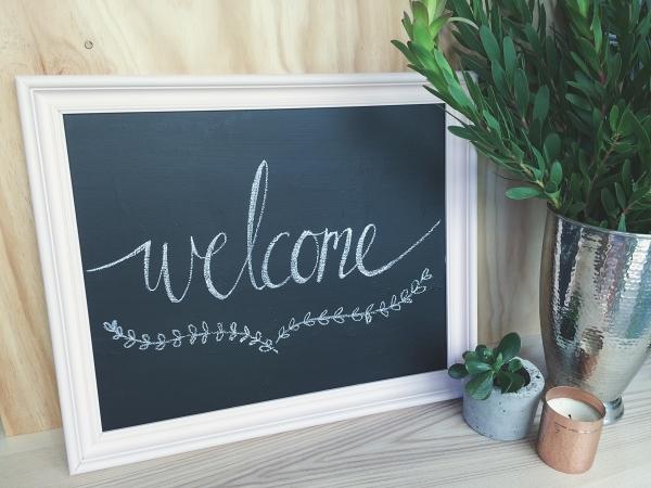 Chalkboard Sign Tutorial