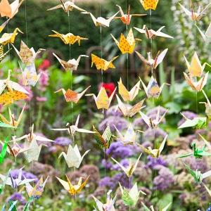 Paper Crane Garlands
