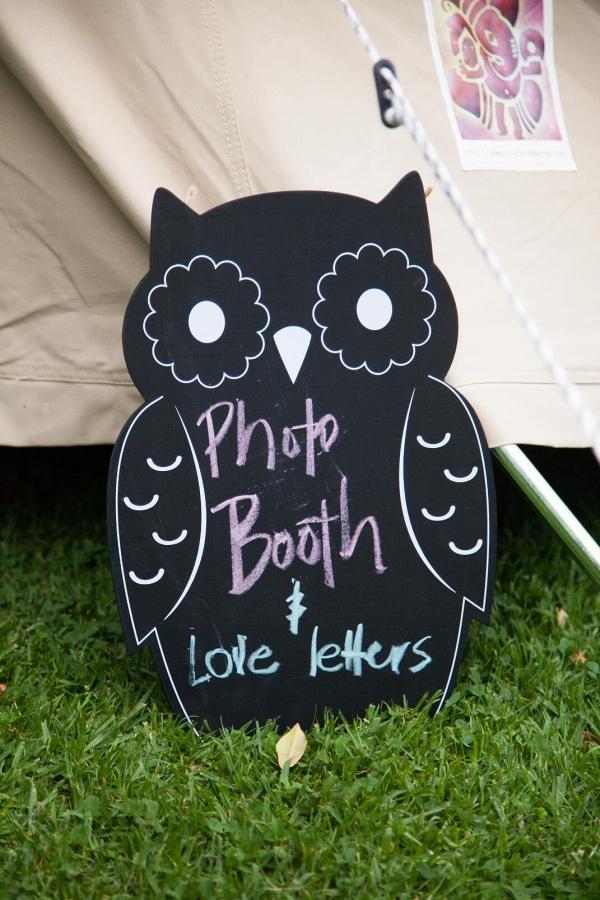 Owl Chalkboard Sign