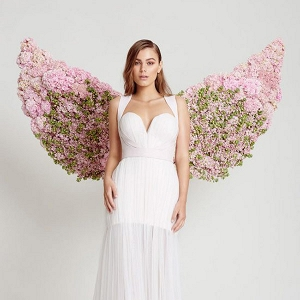 Bride With Flower Wings