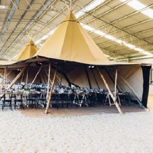 Glam Country Wedding Reception